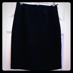 The Limited Black Wool Skirt 6